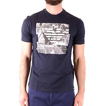 Emporio Armani zwarte katoenen T-shirt