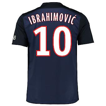 2015-16 PSG Home Shirt (Ibrahimovic 10)