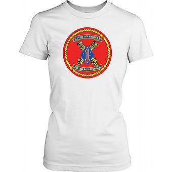 1st Battalion 11th Marines Insignia - Ultima Ration Regnum Ladies T Shirt