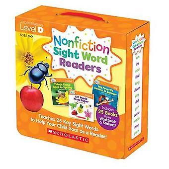 Nonfiction Sight Word Readers Parent Pack Level D - Teaches 25 Key Sig