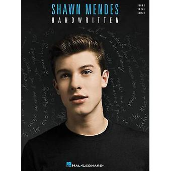 Shawn Mendes - Handwritten by Shawn Mendes - 9781495029424 Book