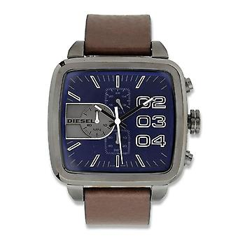 Diesel Square Double Down Chronograph Watch DZ4302