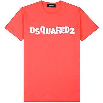 Dsquared2 Logo Stampa T-Shirt
