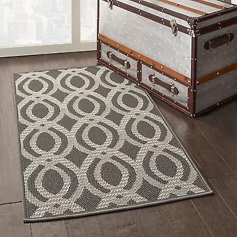 Aruba ARB05 Elfenbein grau Rechteck Teppiche Plain/Fast einfache Teppiche