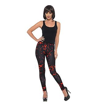 Dame Halloween Horror leggings fancy kjole tilbehør