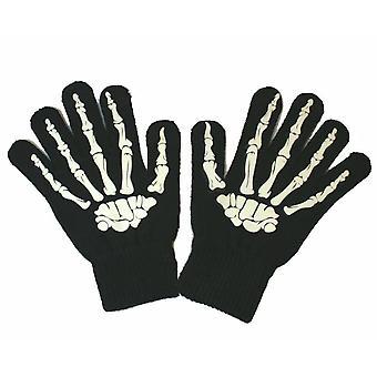 Fun 2 sie - Skelett Fingerhandschuhe hohe Taktilität magische HandschuhSystem