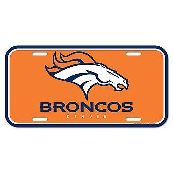 Wincraft NFL Kennzeichenschild - Denver Broncos