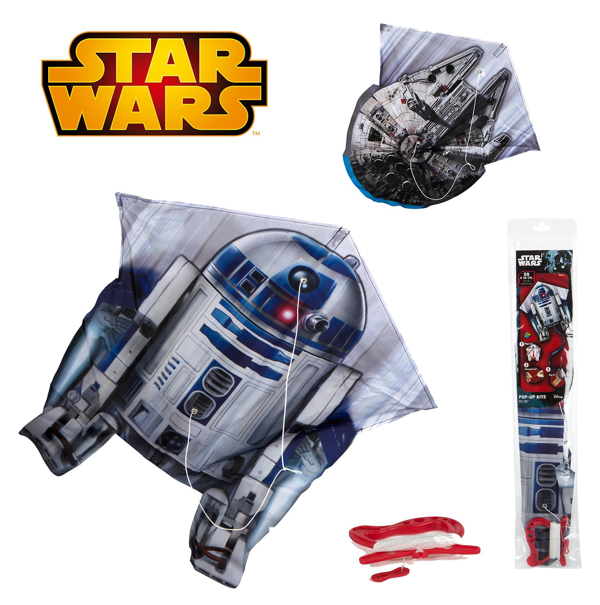 Colorbaby Star Wars Cometa nylon Pop-up 59x56 (Bebés y Niños , Juguetes , Otros)
