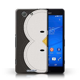 STUFF4 Phone Case / Cover for Sony Xperia Z3 Compact / Penguin Design / Animal Stitch Effect Collection