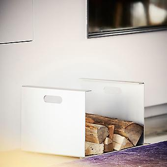Jan Kurtz Heizer Skorstens træbærer aluminium 50 x 35 x 30 cm