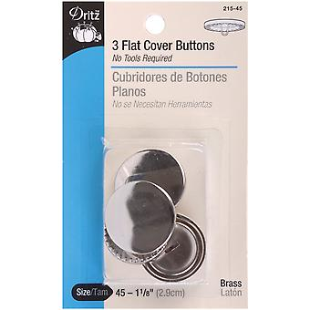 Couvercle plat boutons taille 45 1 1 8
