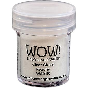 Wow! Embossing Powder 15Ml Clear Gloss Wow Wa01r