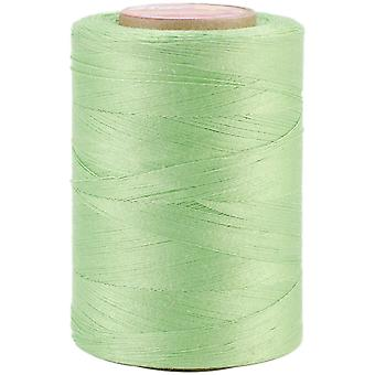 Star Mercerized Cotton Thread Solids 1200 Yards Lime V37 6840