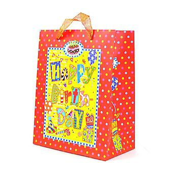 1PK Small Gift Bags Decorative Luxurious Paper bags for Birthday Party