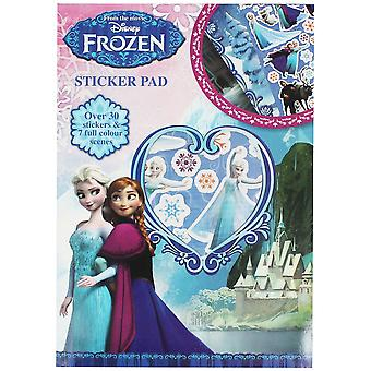 Disney Frozen Sticker Pad with over 30 sticker and 7 full colour scenes