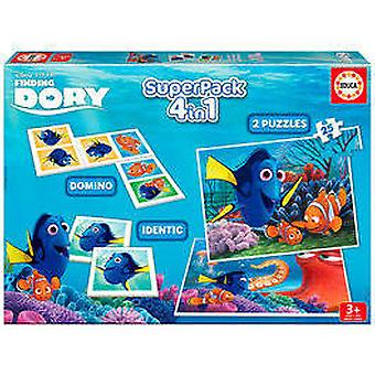 Educa Superpack Finding Dory (Kids , Toys , Table games , Puzzles)