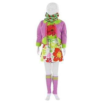 Dress Your Doll Candy Flower (Toys , Educative And Creative , Design And Mode , Mode)
