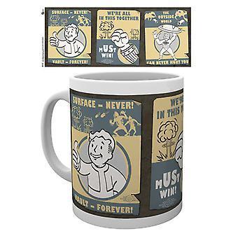 Fallout 4 Vault affiche Mug