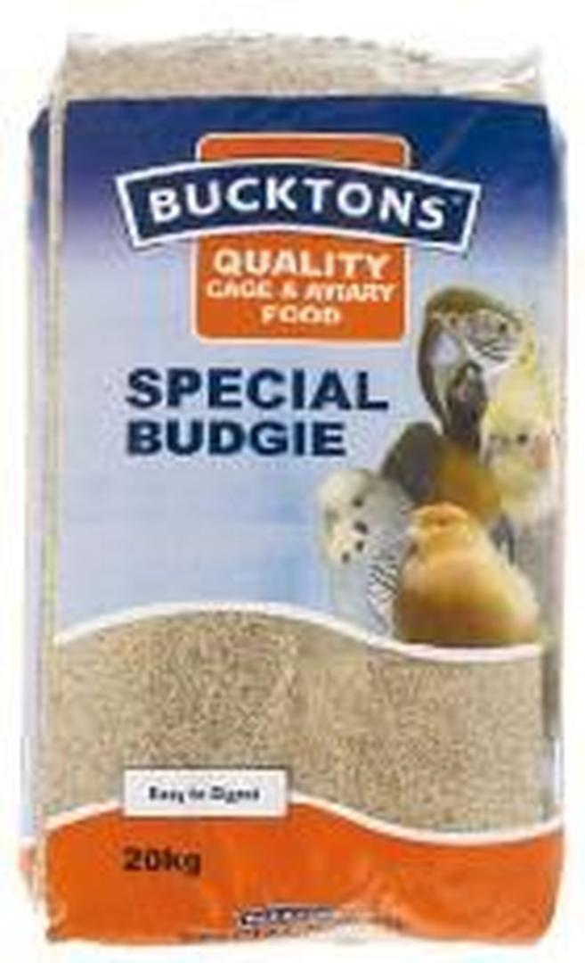 Bucktons Budgie Special 20kg