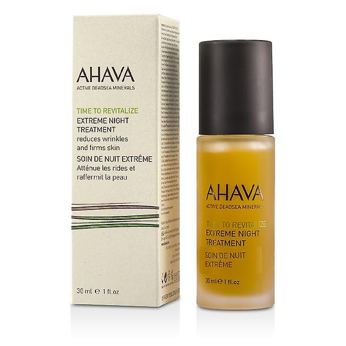 Ahava Time att vitalisera Extreme Night Treatment 30ml / 1oz