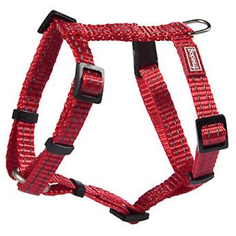 Freedog Harness Nylon Reflect Red (Dogs , Collars, Leads and Harnesses , Harnesses)