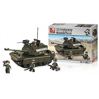 Sluban Building Blocks Army Series Tank
