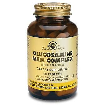 Solgar Glucosamine MSM Complex 60 Tablets (Vitamins & supplements , Special supplements)