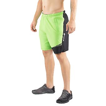 Virus ursprung vistelse svala Flex linning aktiva Shorts - Lime/svart