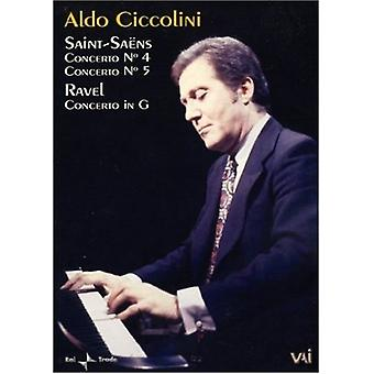 Aldo Ciccolini - In Concert [DVD] USA import