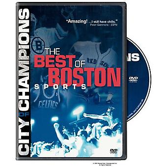 City of Champions: Boston Sports Greatest Moments [DVD] USA import
