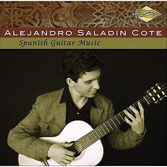 Alejandro Saladin Cote - spansk guitarmusik [CD] USA import