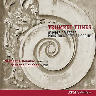 Händel/Purcell/Clark/Bach - Trumpet Tunes [CD] USA import