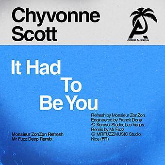 Chyvonne Scott - det måtte være du [DVD] USA import