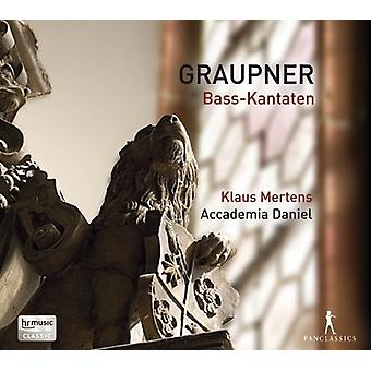 Graupner / Mertens / Accademia Daniel / AD-El-bas-Kantaten [CD] USA import