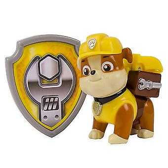 Paw patrulje - Action Pack Pup & Badge - murbrokker