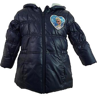 Girls Disney Frozen Winter Hooded Jacket