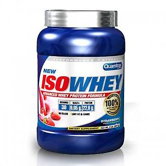 Quamtrax Nutrition Isowhey Kiwi 2260 gr (Sport , Proteins and carbohydrates)