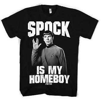 STAR TREK - 'Spock Is My Homeboy' T-Shirt .