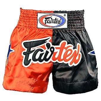 Fairtex Classic Red-Black Muay Thai Shorts