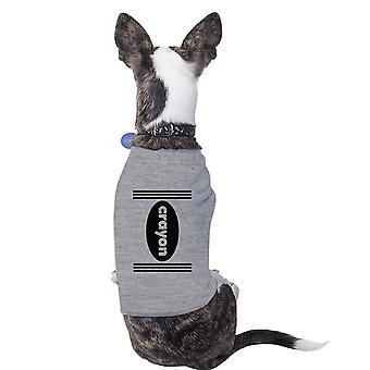 Lápiz pequeño perro camisa Linda Halloween traje camiseta para mascotas pequeñas