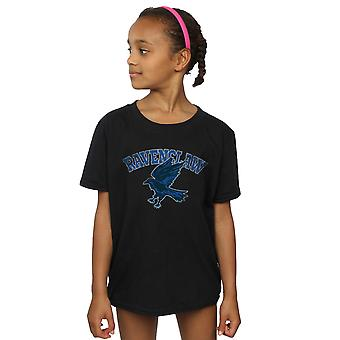 Harry Potter filles Serdaigle Sport emblème T-Shirt