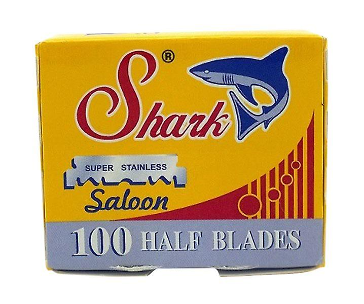 Shark Super Stainless Saloon Half Blades (100 Blades)