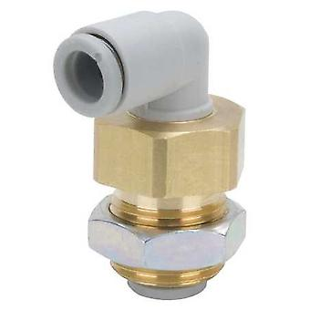 SMC Kq2Le08-00A Pneumatic Threaded-To-Tube Adapter Push In 8 Mm M16 X 1 Male Bsp