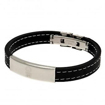 Nottingham Forest Stitched Silicone Bracelet
