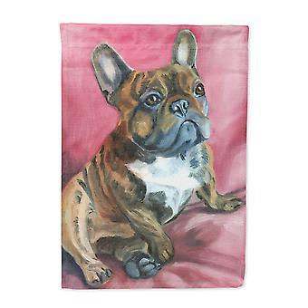 Carolines Treasures  7379CHF French Bulldog Snuggle Flag Canvas House Size