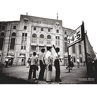 Yankee Boys Yankee Stadium Bronx Ny Poster Print by Corbis Archive (32 x 24)