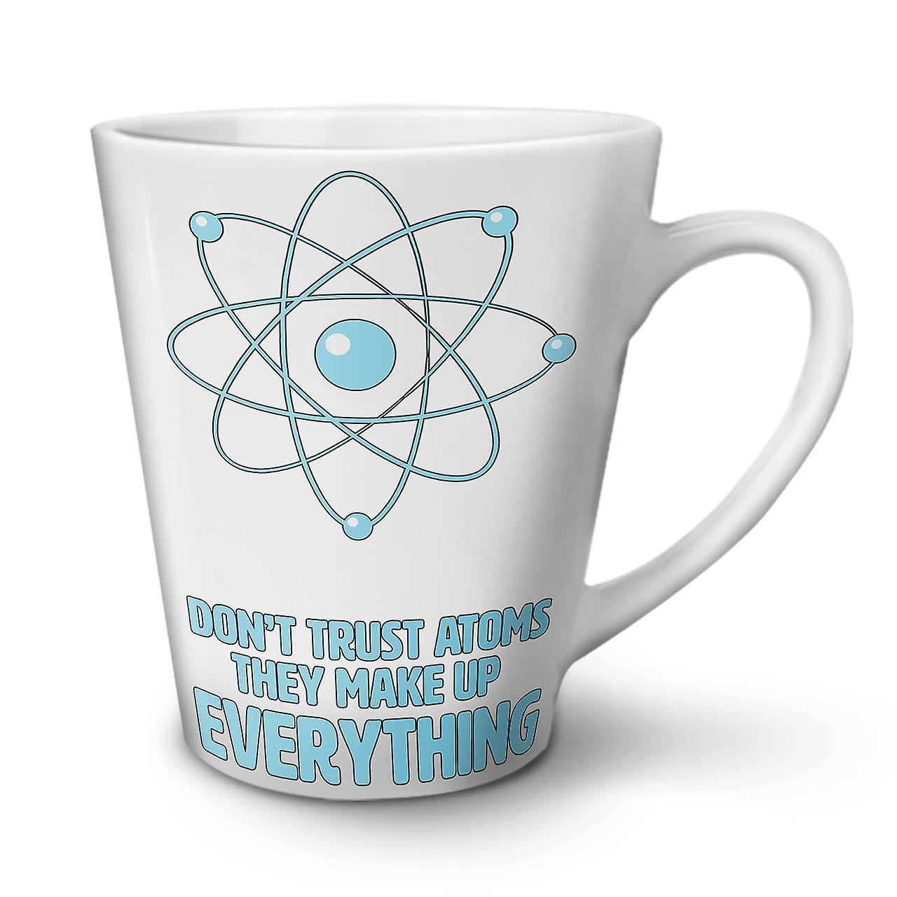 Céramique Ne Faites Nouvelle 12 Blanche Tasse Café Confiance Atom Latte OzWellcoda En Pas L4Rj5A
