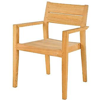 Alexander Rose Roble Stacking Arm Chair