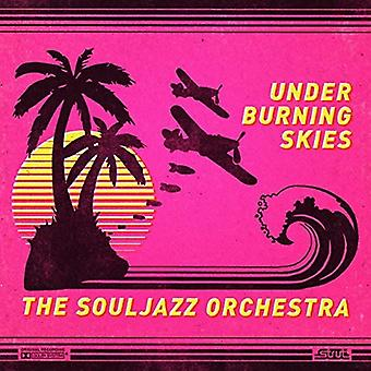 Souljazz orkester - Under brænding Skies [CD] USA import