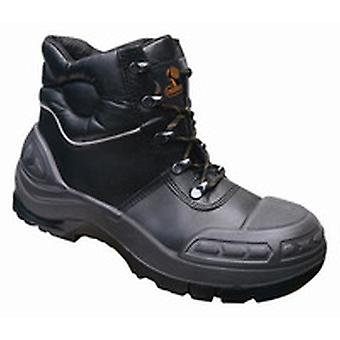 V12 VR657 Endura Ii Black Tough Comfort Boot EN20345:2011-S3 Size 8